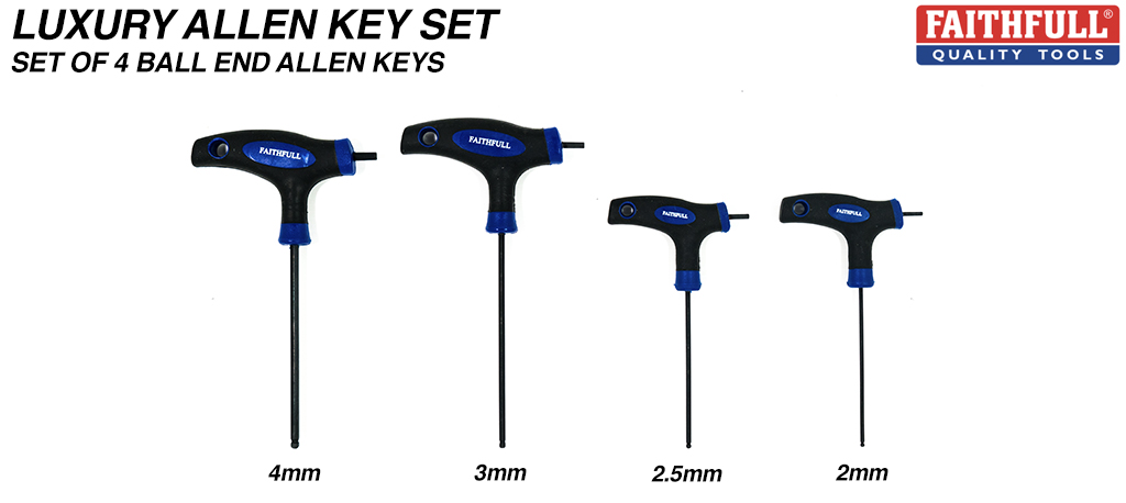 Allen Key Kit 2, 2.5, 3 & 4mm Allen Keys work all around your board.... Dont get caught short without the right tool to fix your board....