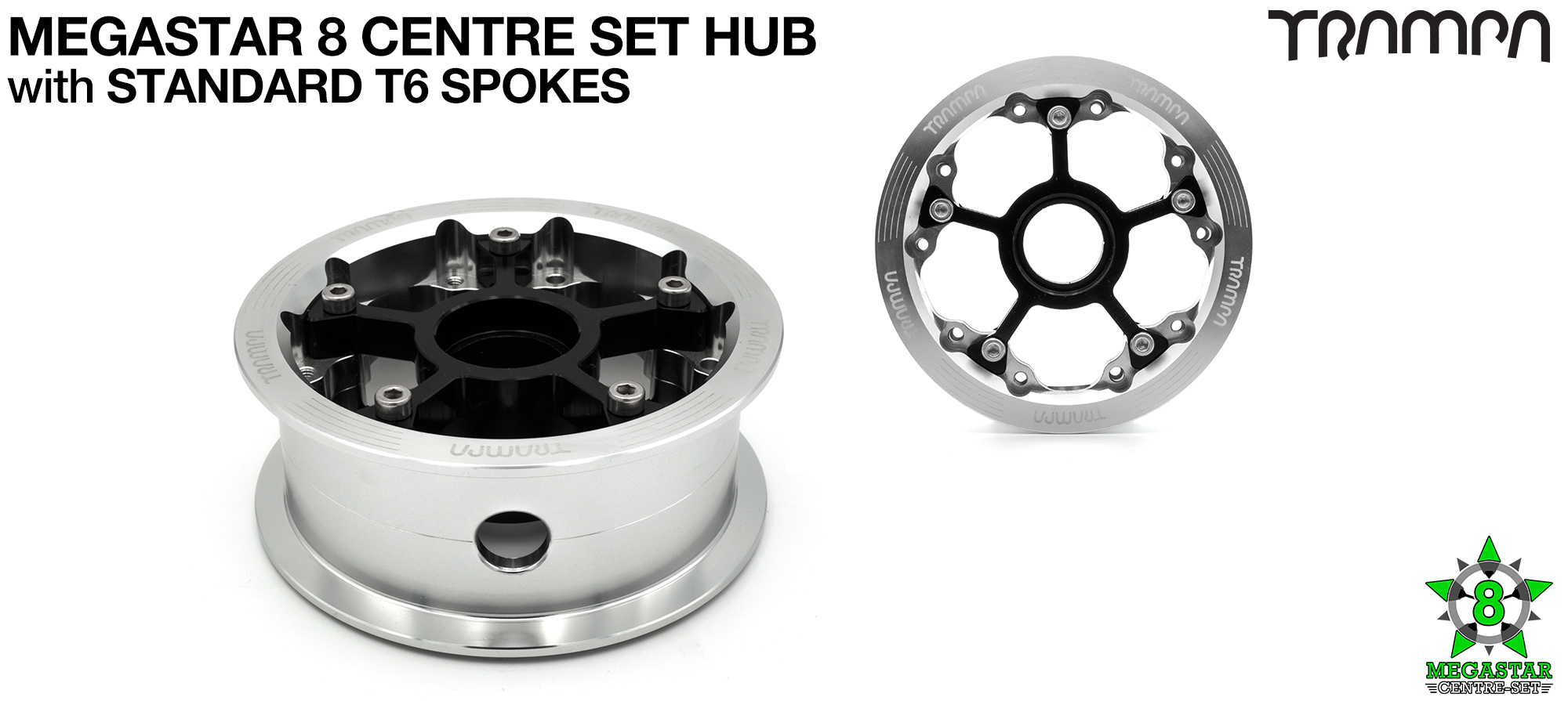 Custom 8 Inch MEGASTAR HUB! Build the SUPERSTAR Hub of your dreams!! Any combination possible...