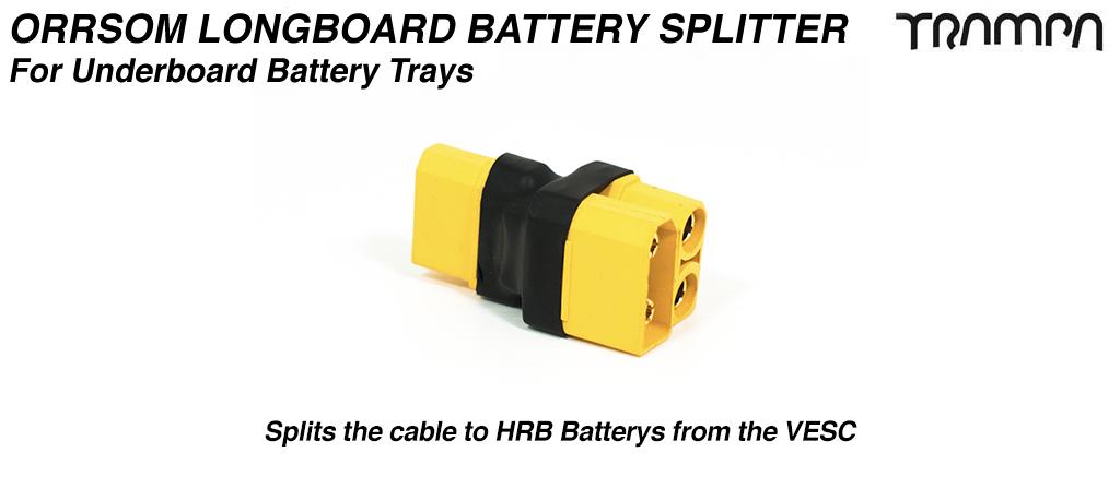 ORRSOM Longboard Battery Splitter