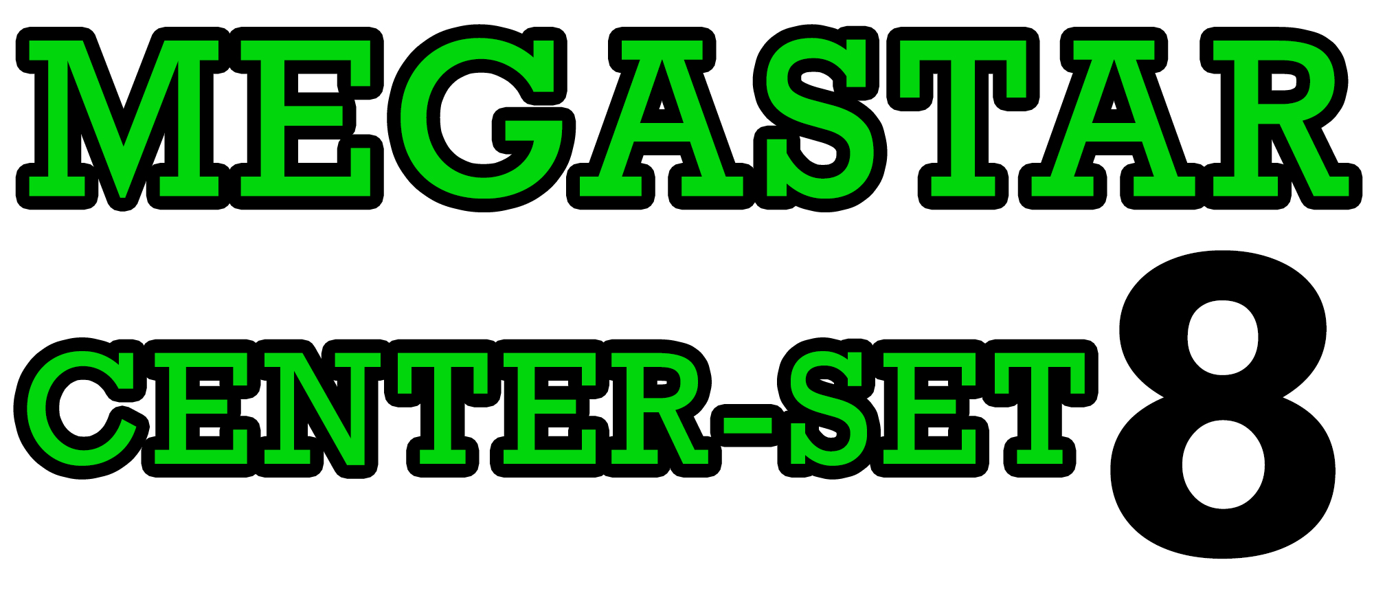 Custom MEGASTAR Wheel using 8 Inch Tyres