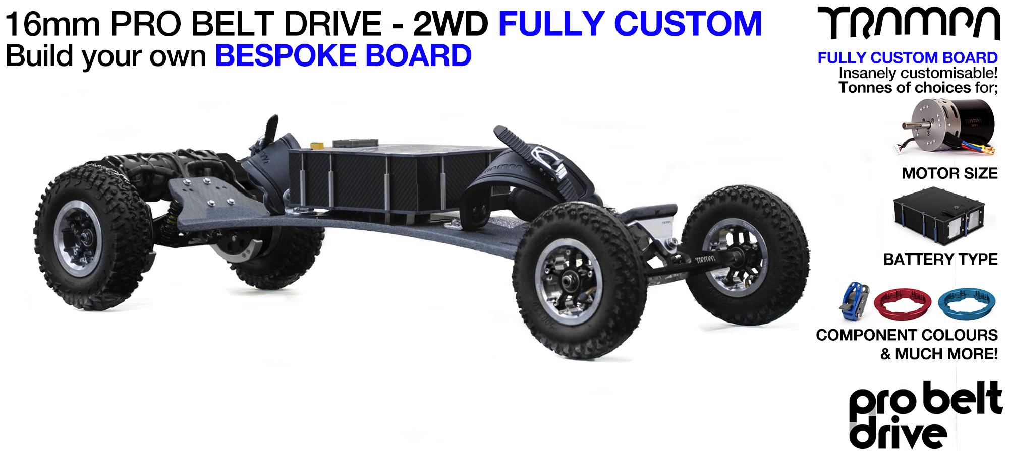 Electric Mountainboard PRO BELT DRIVE - Custom