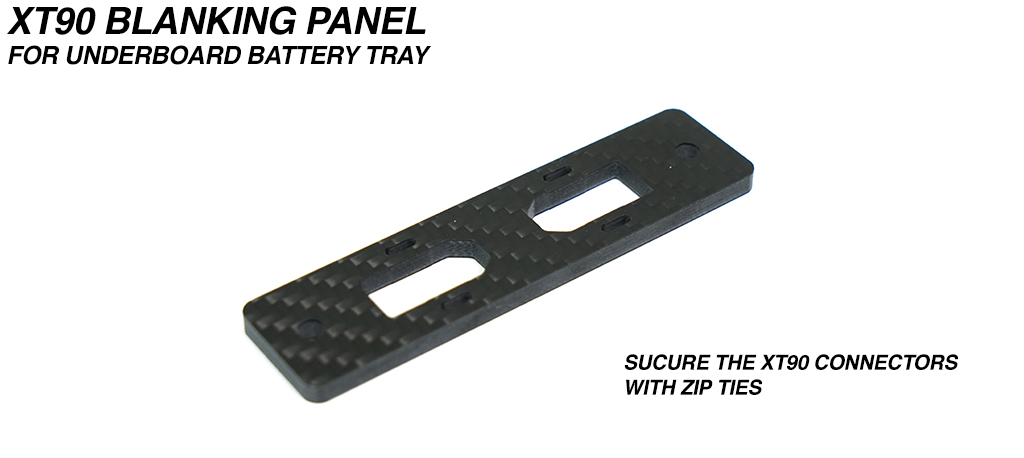 XT90 Key Harness Mounting Plate for Underboard Battery Tray