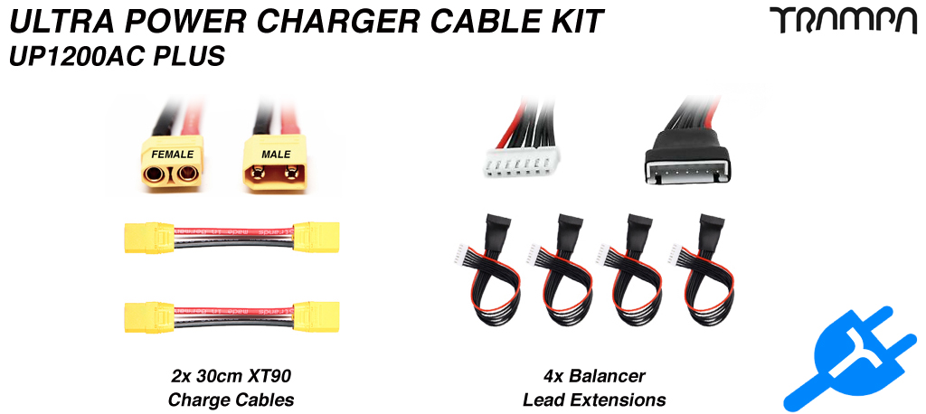 ULTRA POWER Charger CABLE Extension KIT