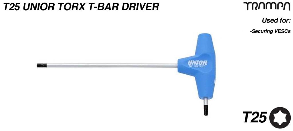 Unior Torx T25 T Handle Driver