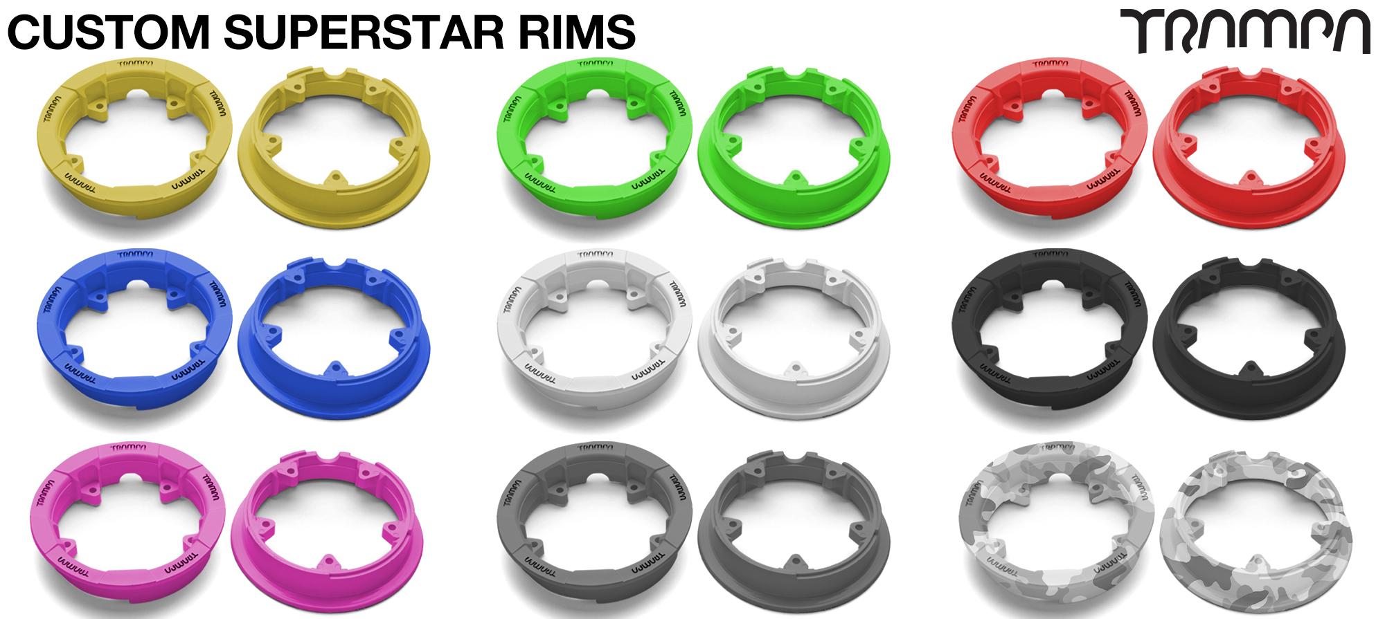 Custom SUPERSTAR Rims
