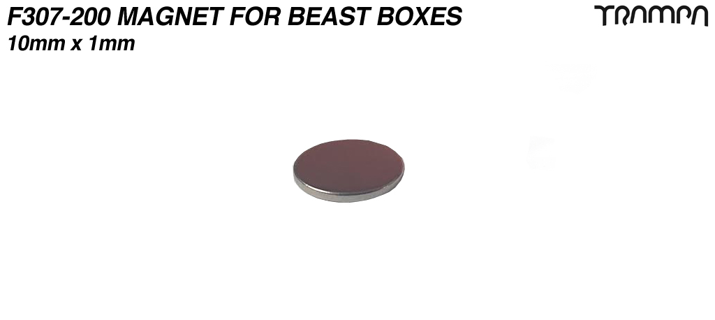 10x1mm Neodymium Magnets used in the BEAST Boxes