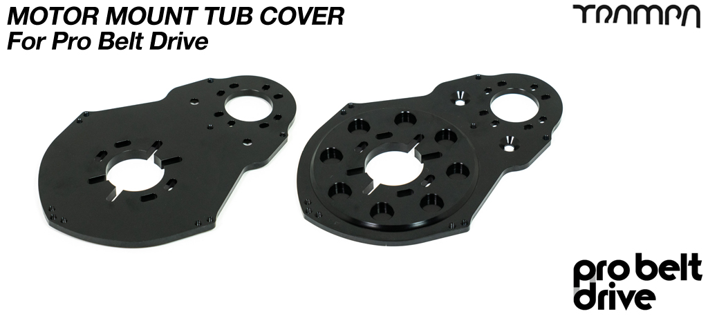 PRO Belt Motor Mount ALUMINIUM Panel - V3