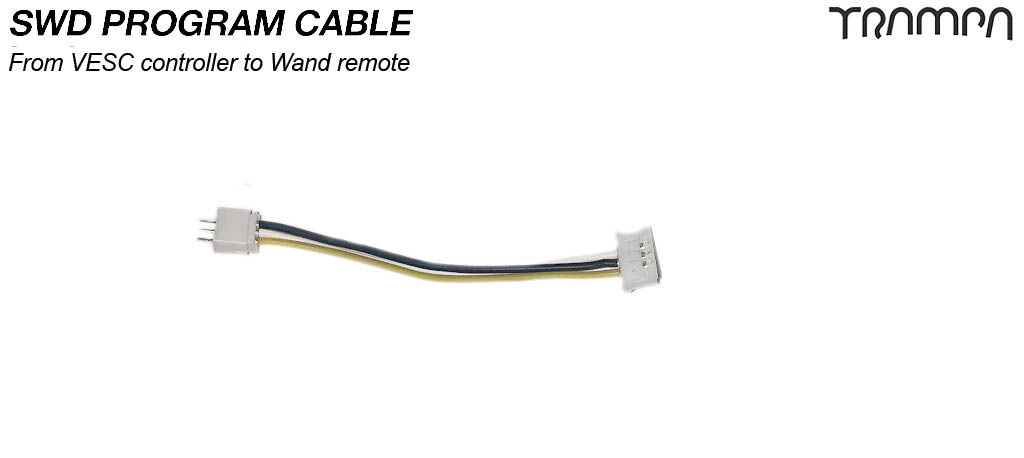 SWD Program Cable - VESC to WAND
