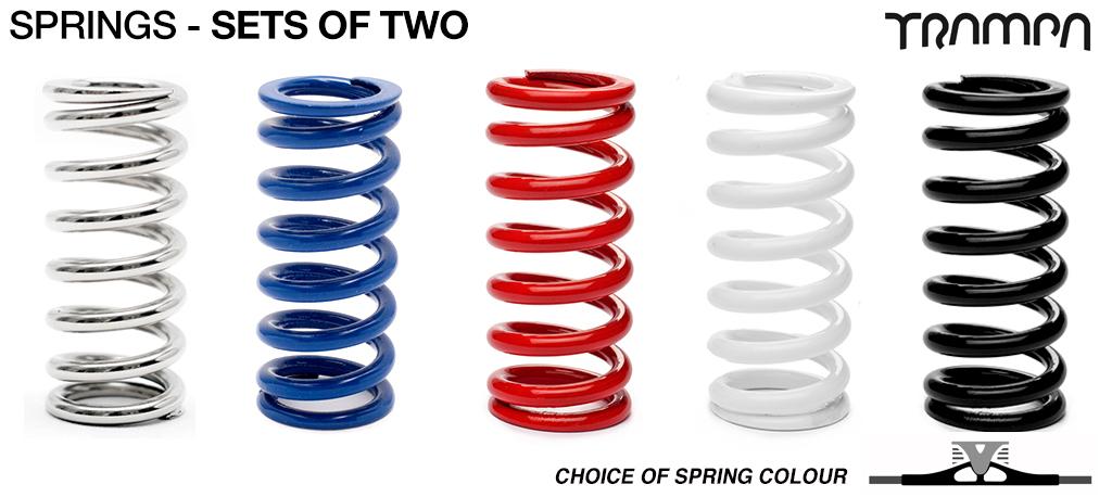 Custom Coloured Springs x 2