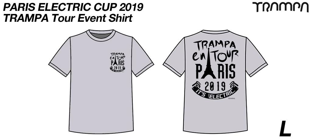PARIS ELECTRIC CUP 2019 Event Shirt LARGE