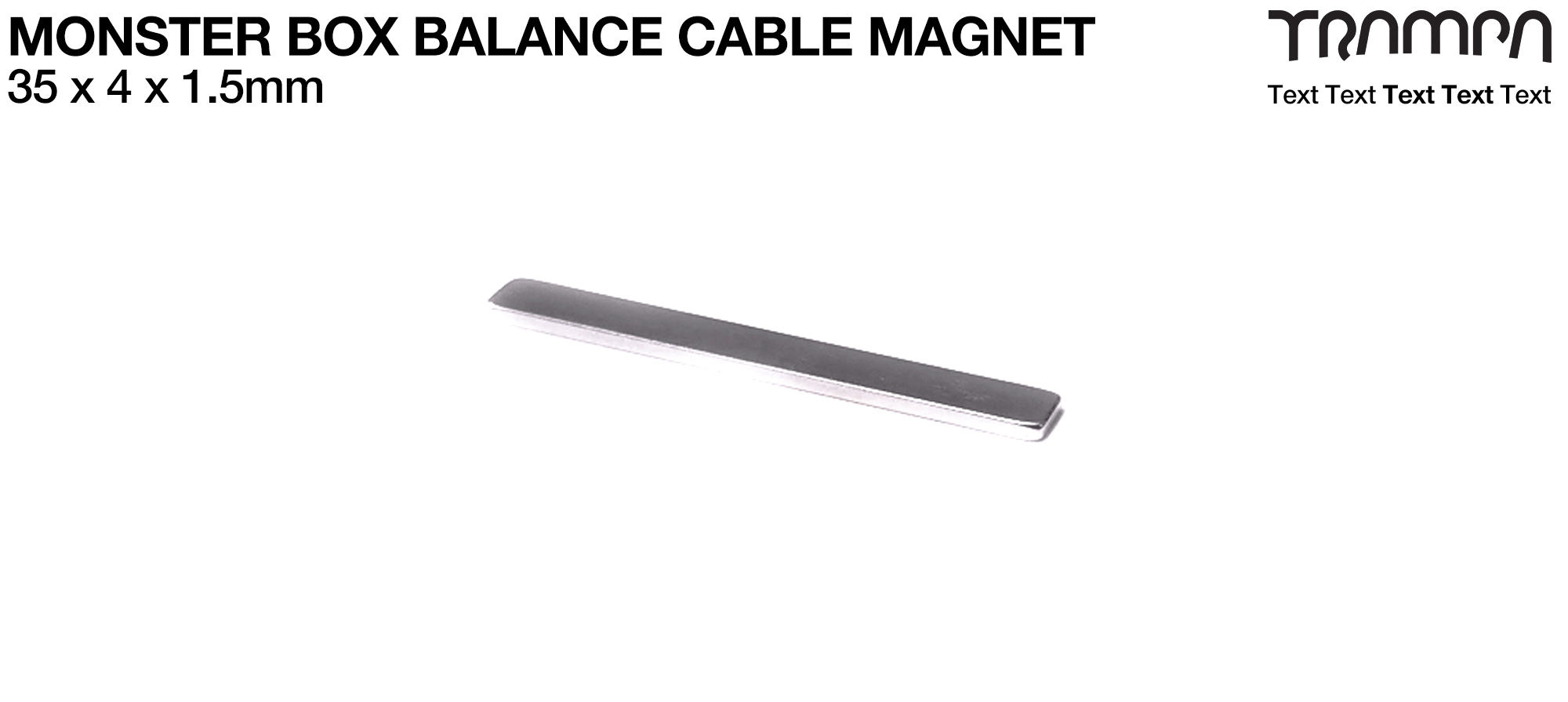 Magnet for Monster Box Balance cables protection 30x 4x 1.5mm N