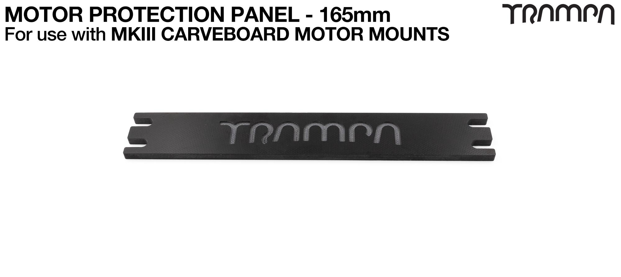 MkII URBAN & GUMMIES Carve Motor Mount Carbon Fibre Motor protection Panel