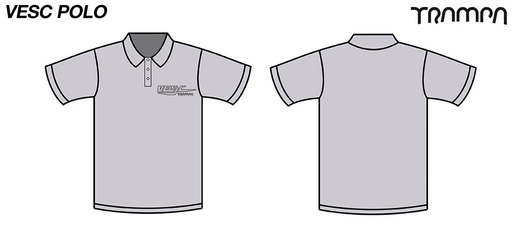 FOTL Polo Shirt VESC Grey
