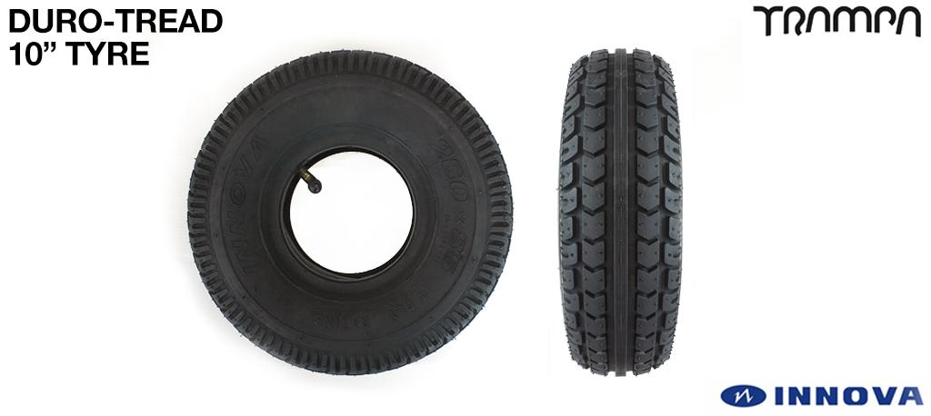 10 Inch Duro-Tread Tyre