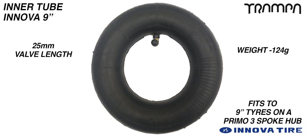 9 Inch Re-enforced Inner Tube made by INNOVA - 225x65mm