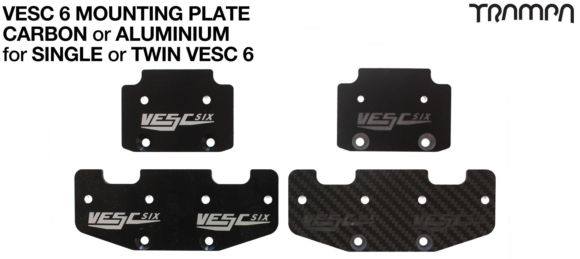 Custom VESC Mounting Plate - SINGLE OR TWIN