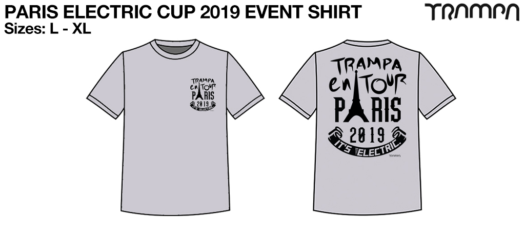 PARIS ELECTRIC CUP 2019 Event Shirt
