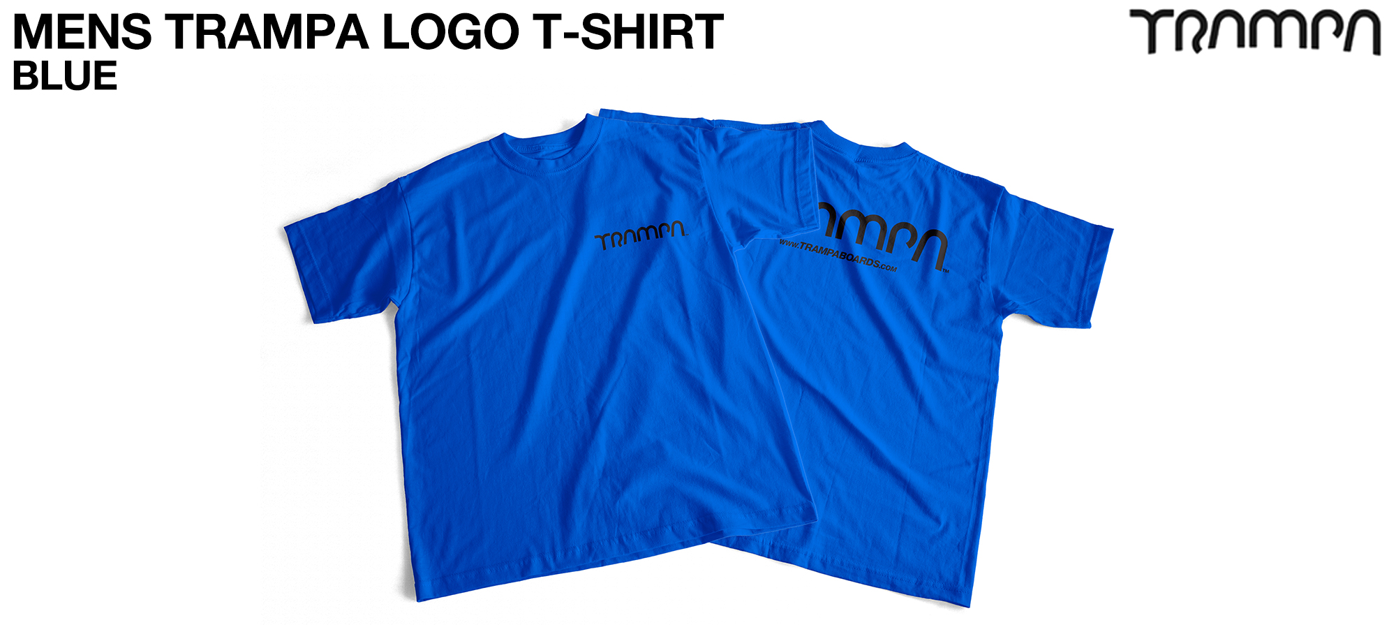 Gildan T Shirt BLUE with Black Logo
