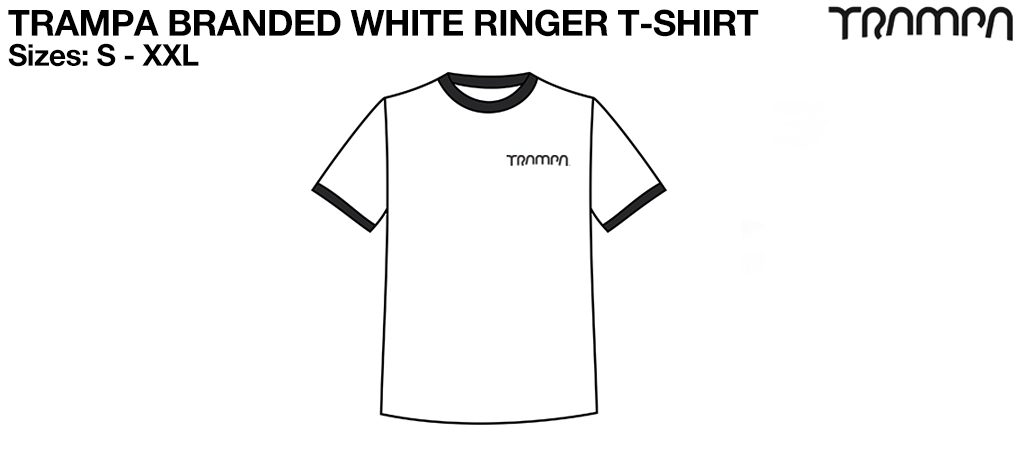 FOTL White Black Ringer T Shirt