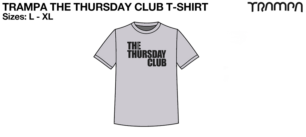 FOTL The THURSDAY Club Marl Grey Heavy Cotton
