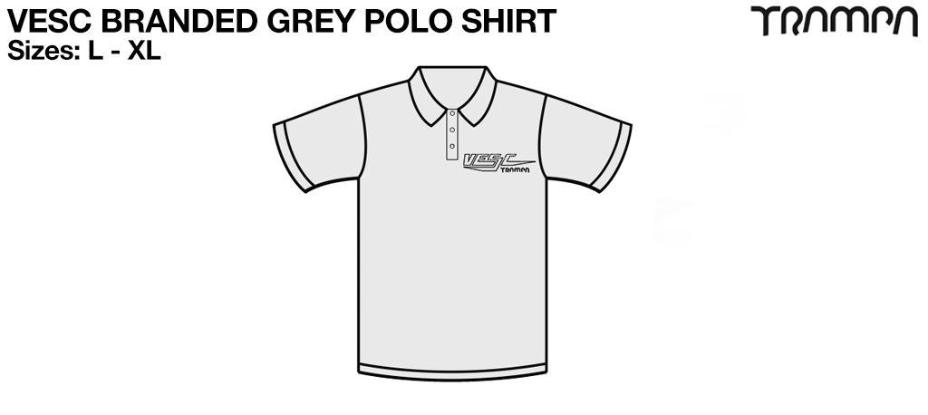 FOTL GREY VESC Polo
