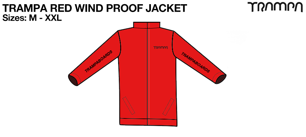TRAMPA RED Wind Proof Jacket