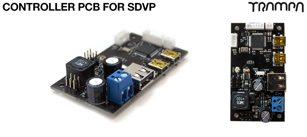 Controller PCB for SDVP
