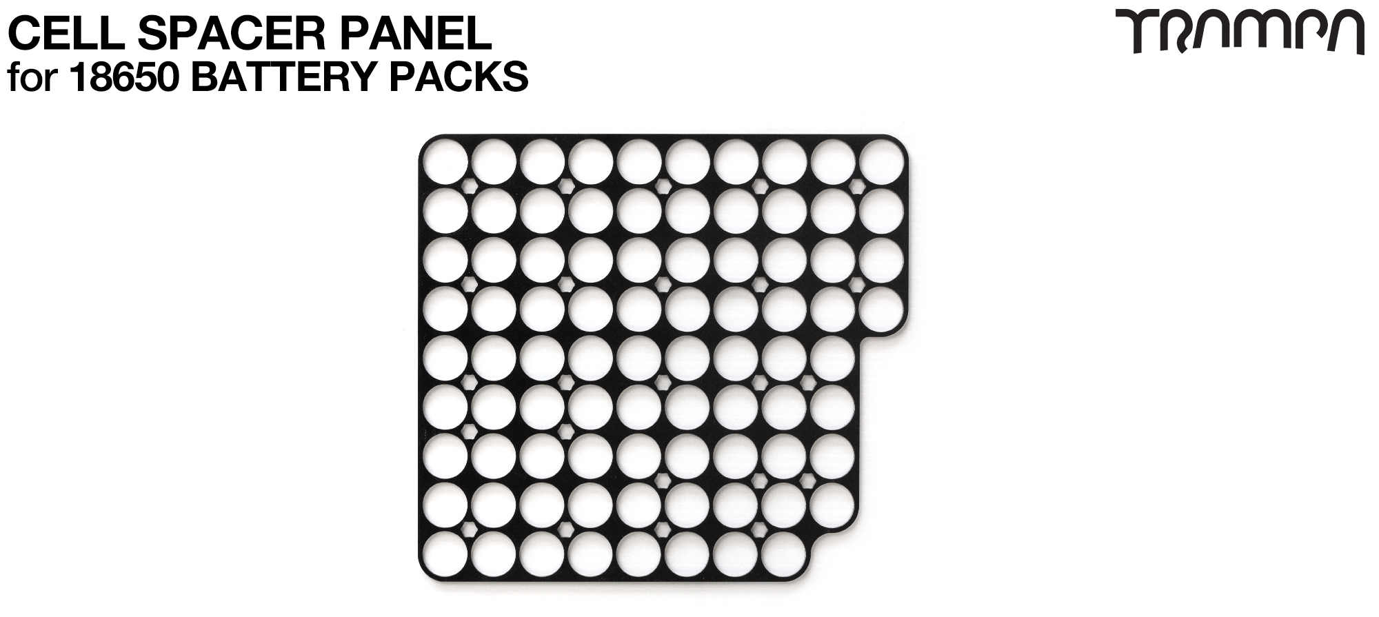 Cell Spacers for 18650 Battery Pack