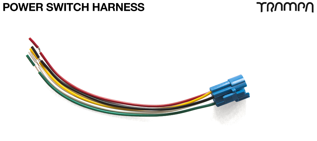 Cable Harness for wiring Power Switches to VESCs