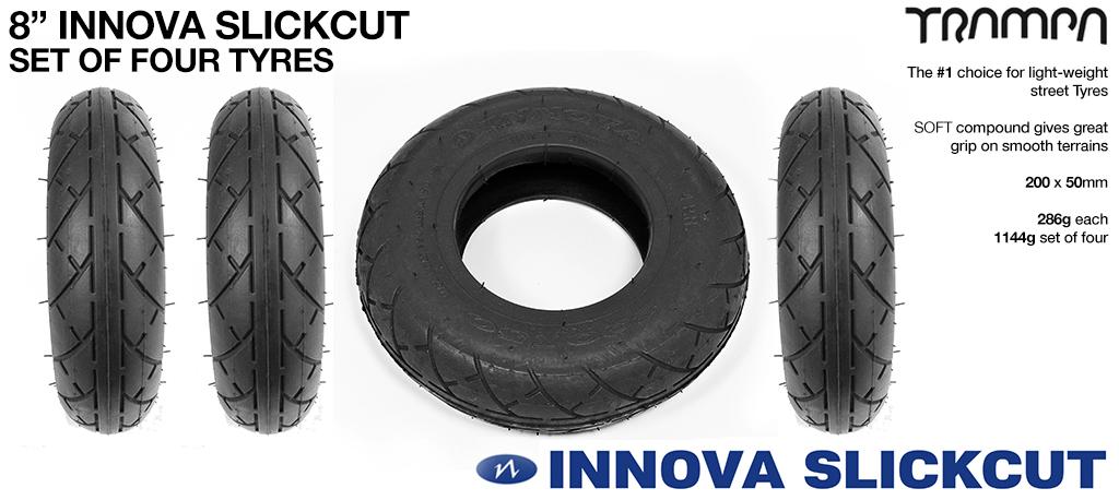 INNOVA SLICKCUT High Pressure - 8 Inch Tyre