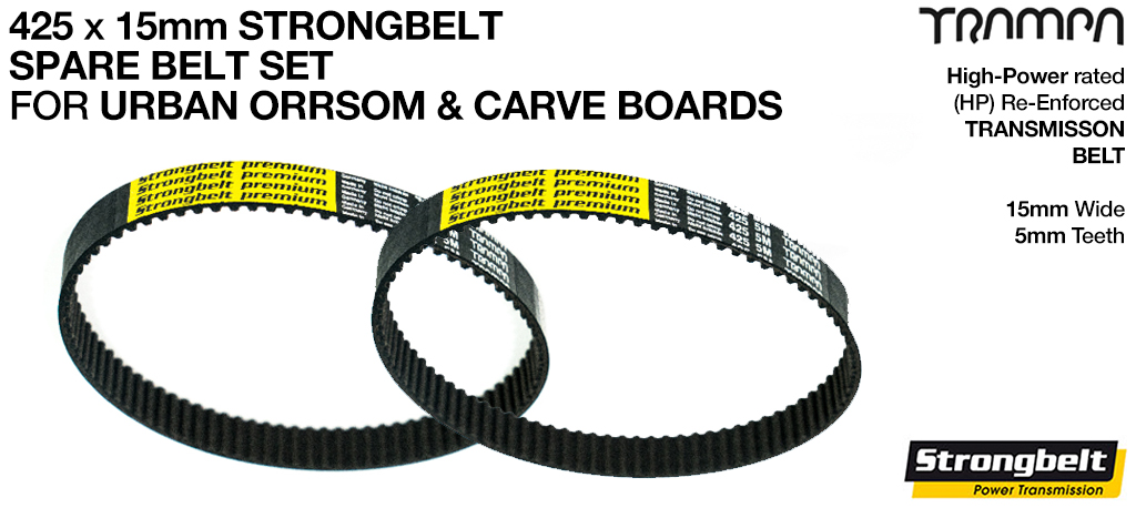 425 x 15 STRONGBELT Special Offer for URBAN ORRSOM & CARVE Boards