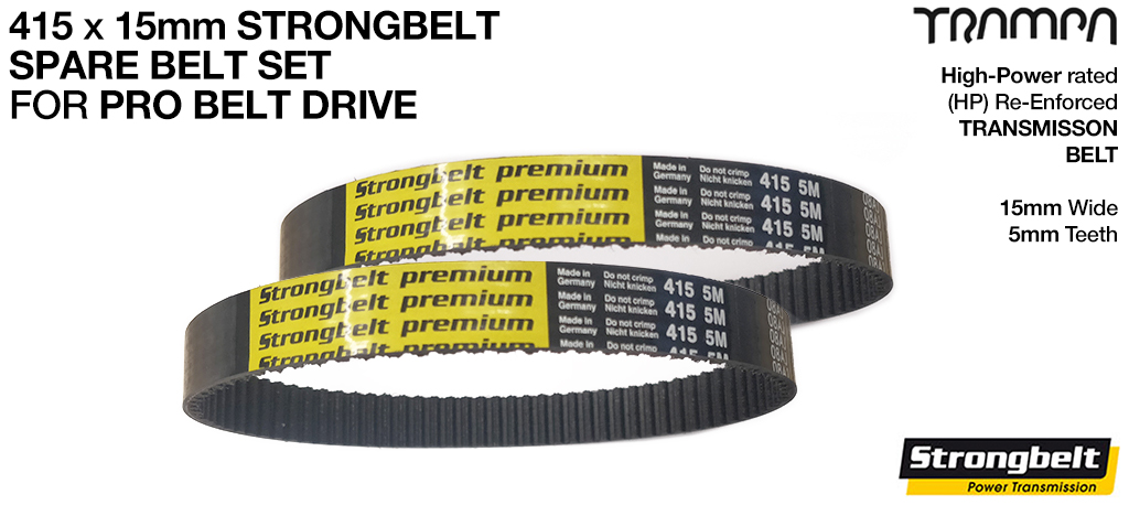 415 x 15 STRONGBELT Special Offer for PRO BELT DRIVE Boards