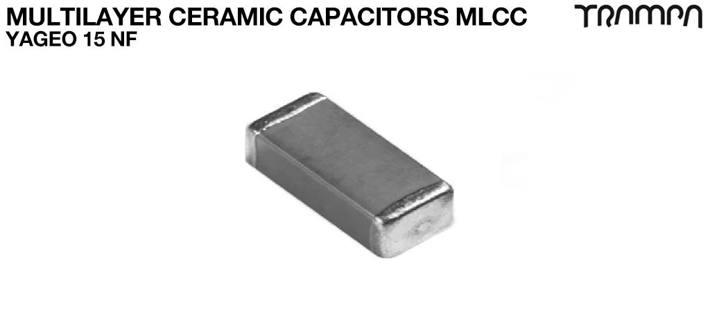Multilayer Ceramic Capacitors MLCC / YAGEO 15 nF