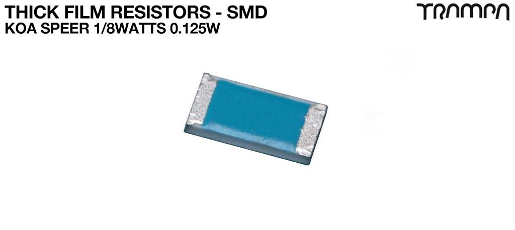 Thick Film Resistors - SMD / KOA Speer 1/8watts 0.125W