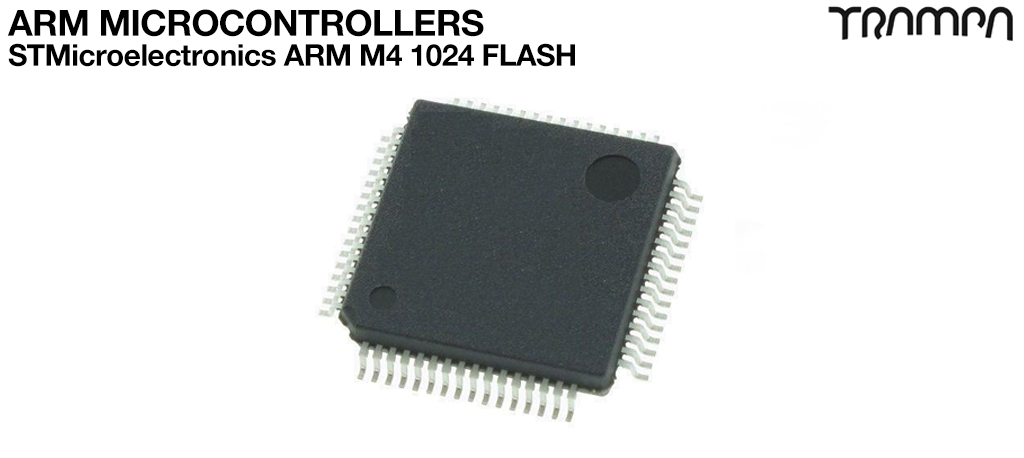 ARM Microcontrollers / STMicroelectronics ARM M4 1024 FLASH