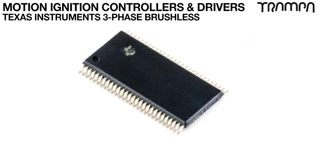 Motion Ignition Controllers & Drivers / Texas Instruments 3-PHASE BRUSHLESS