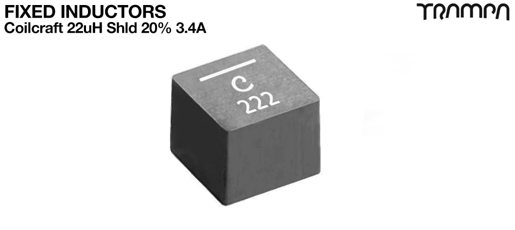 Fixed Inductors / Coilcraft 22uH Shld 20% 3.4A