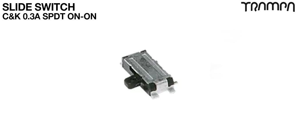Slide Switch / C&K 0.3A SPDT ON-ON