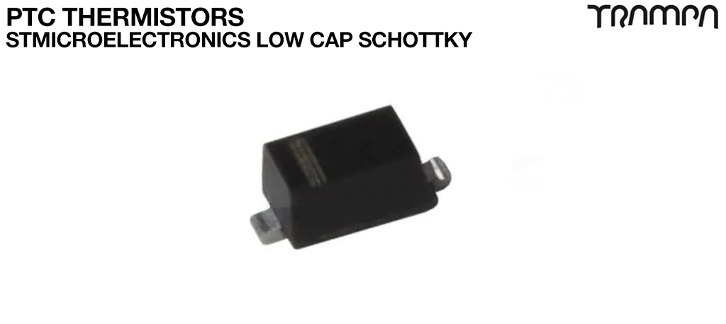 Schottky Diodes & Rectifiers / STMicroelectronics Low cap Schottky