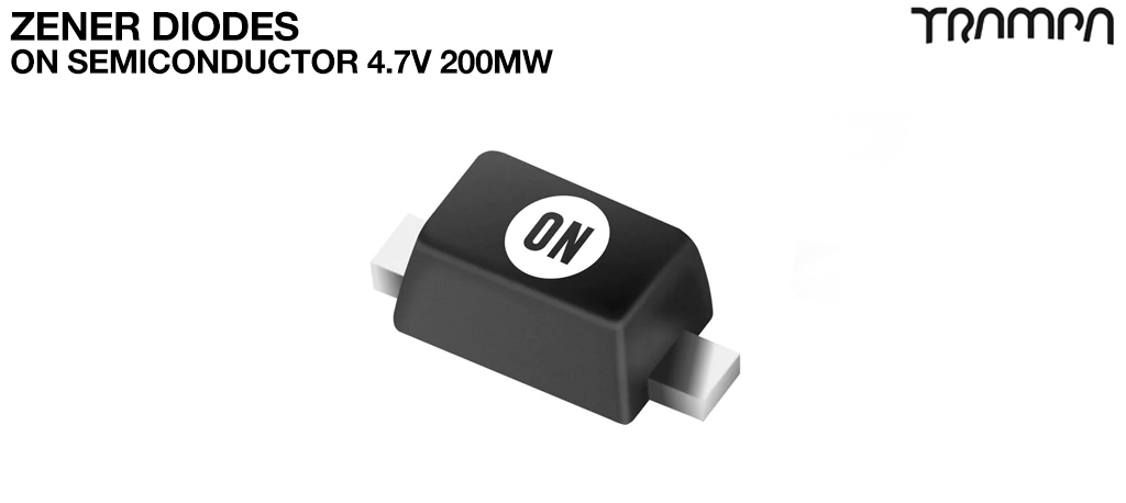 Zener Diodes / ON Semiconductor 4.7v 200mW