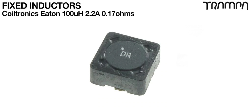 Fixed Inductors / Coiltronics Eaton 100uH 2.2A 0.17ohms