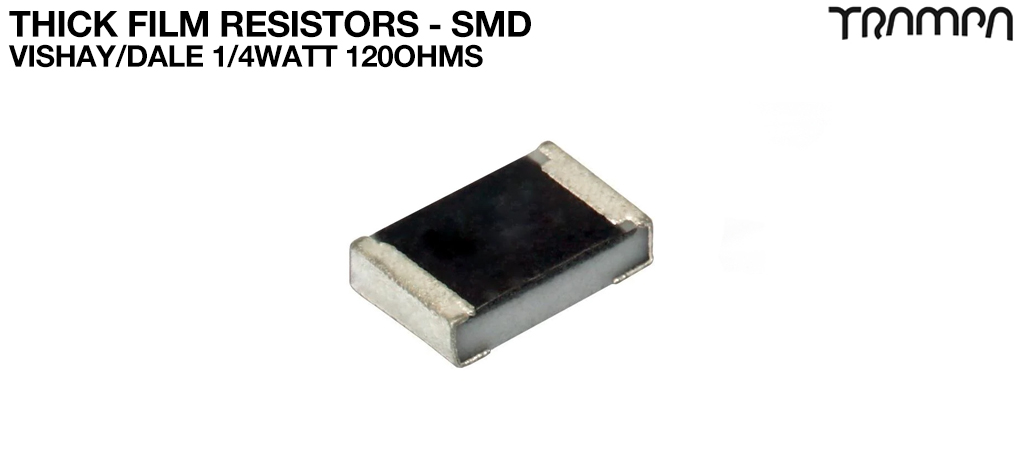 Thick Film Resistors - SMD / Vishay/Dale 1/4Watt 120ohms