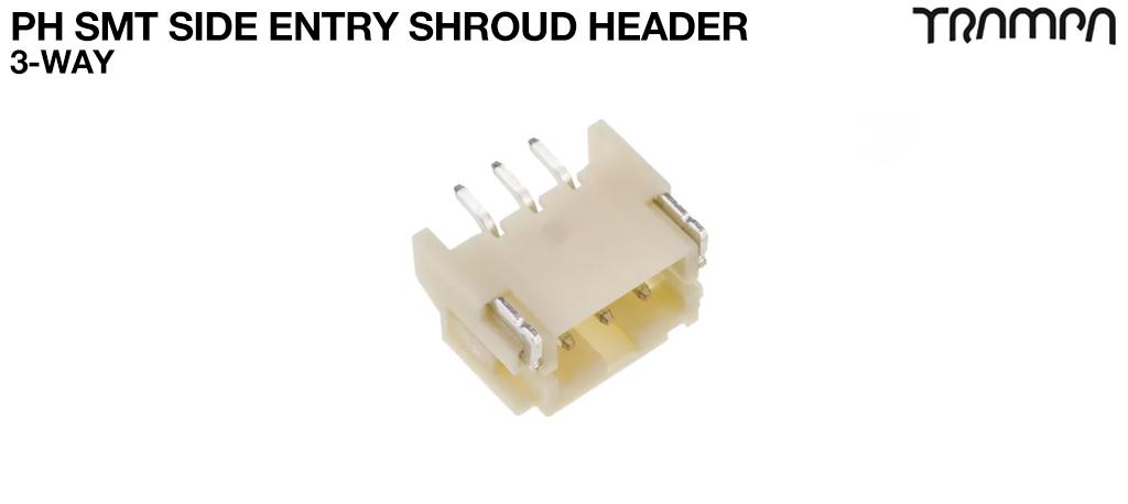 PH SMT Side Entry Shroud Header 3-Way