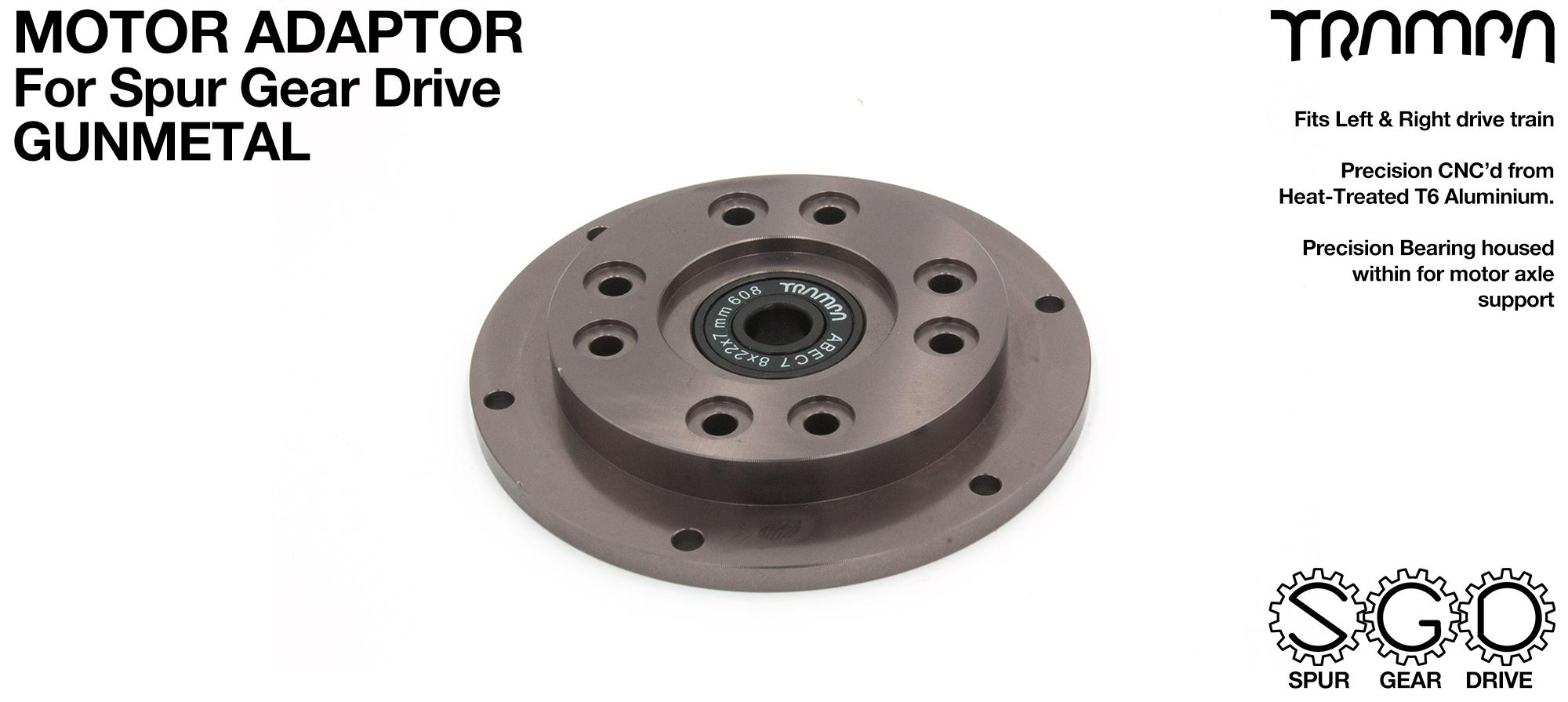 SPUR Gear Drive Motor Adaptor GUNMETAL