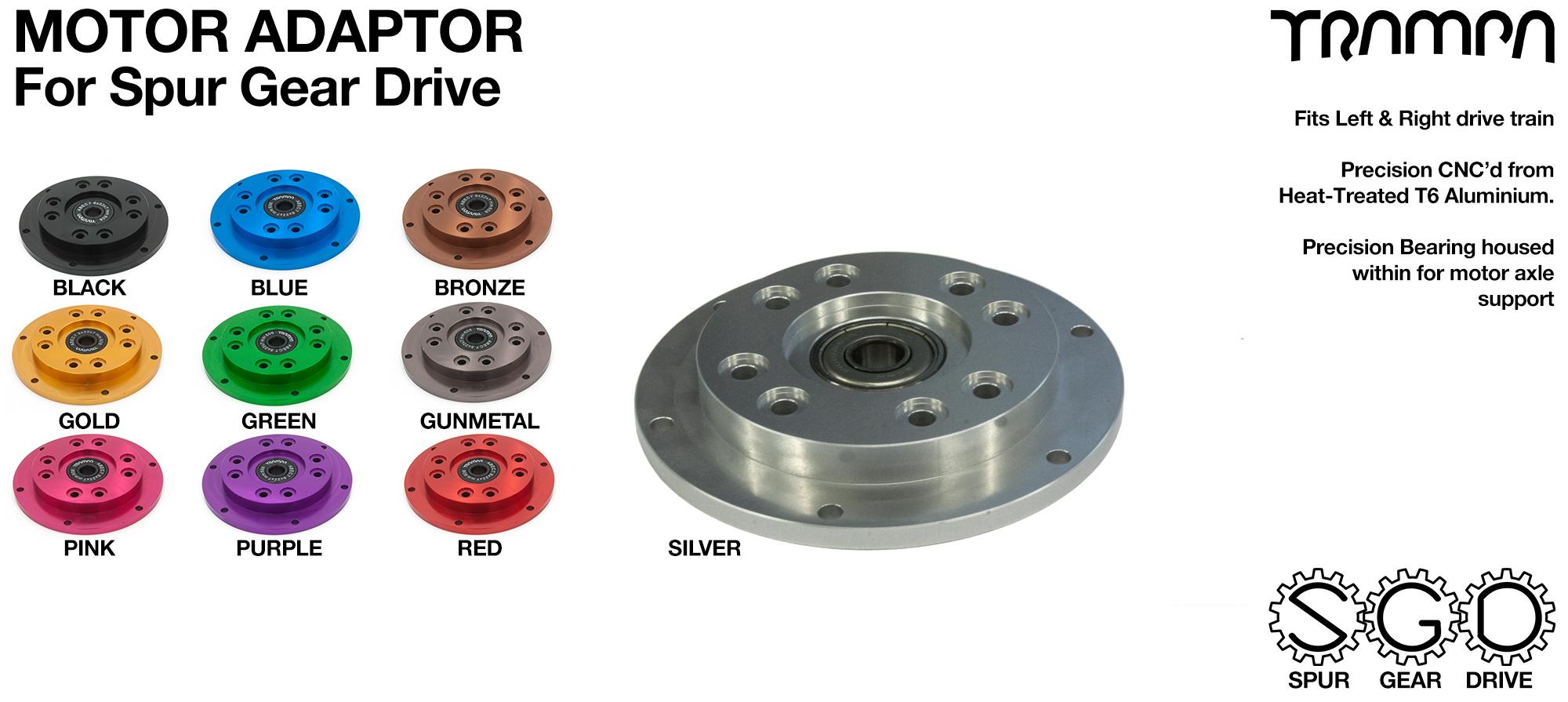 MkII Spur Gear Drive Motor Adaptor