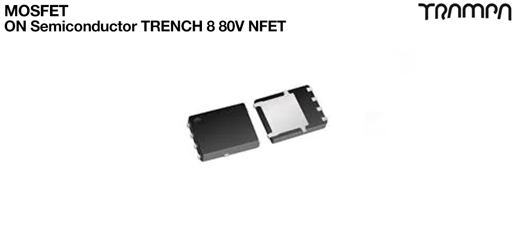 MOSFETON Semiconductor TRENCH 8 80V NFET