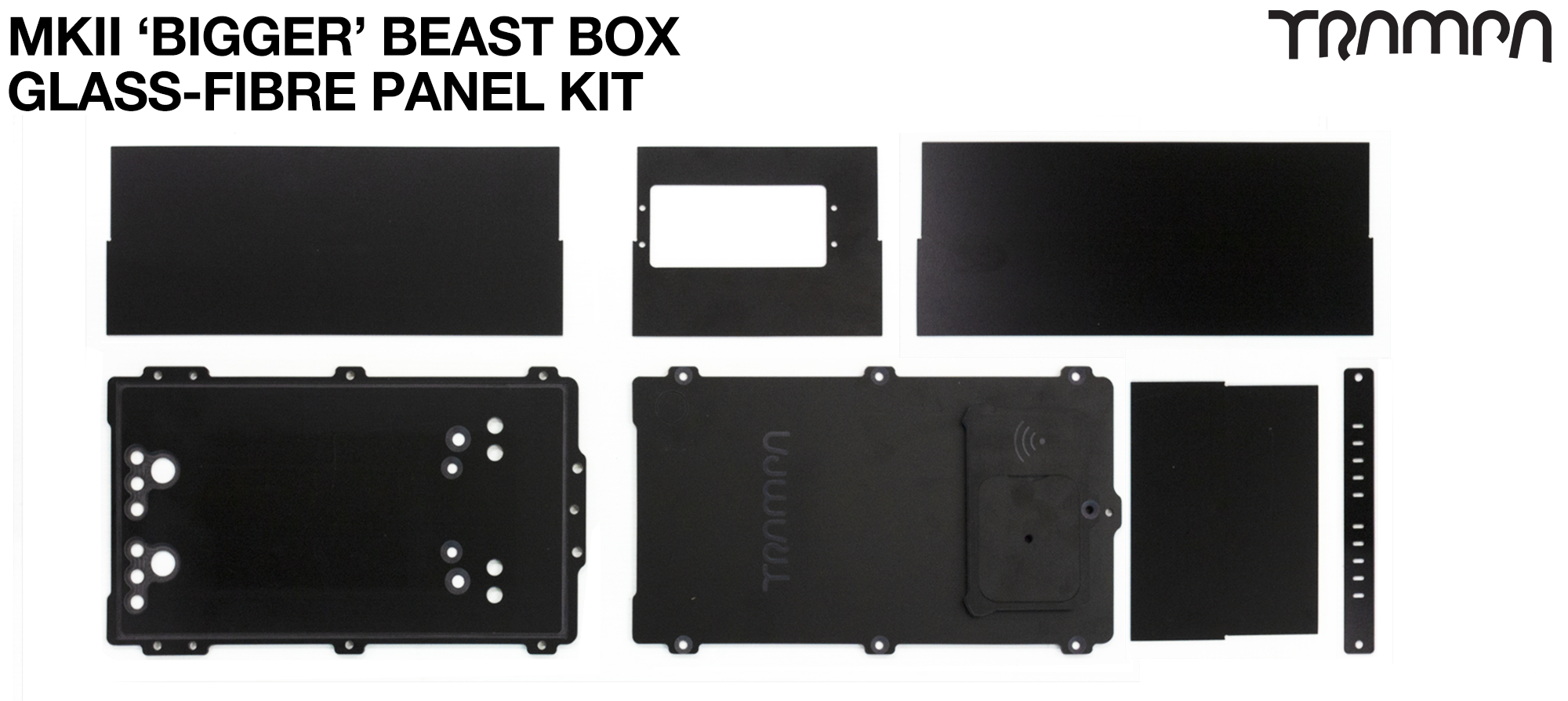 MKII 'BIGGER' BEAST Box - fits 12000mAh at 12s Power & 1x HD60Twin