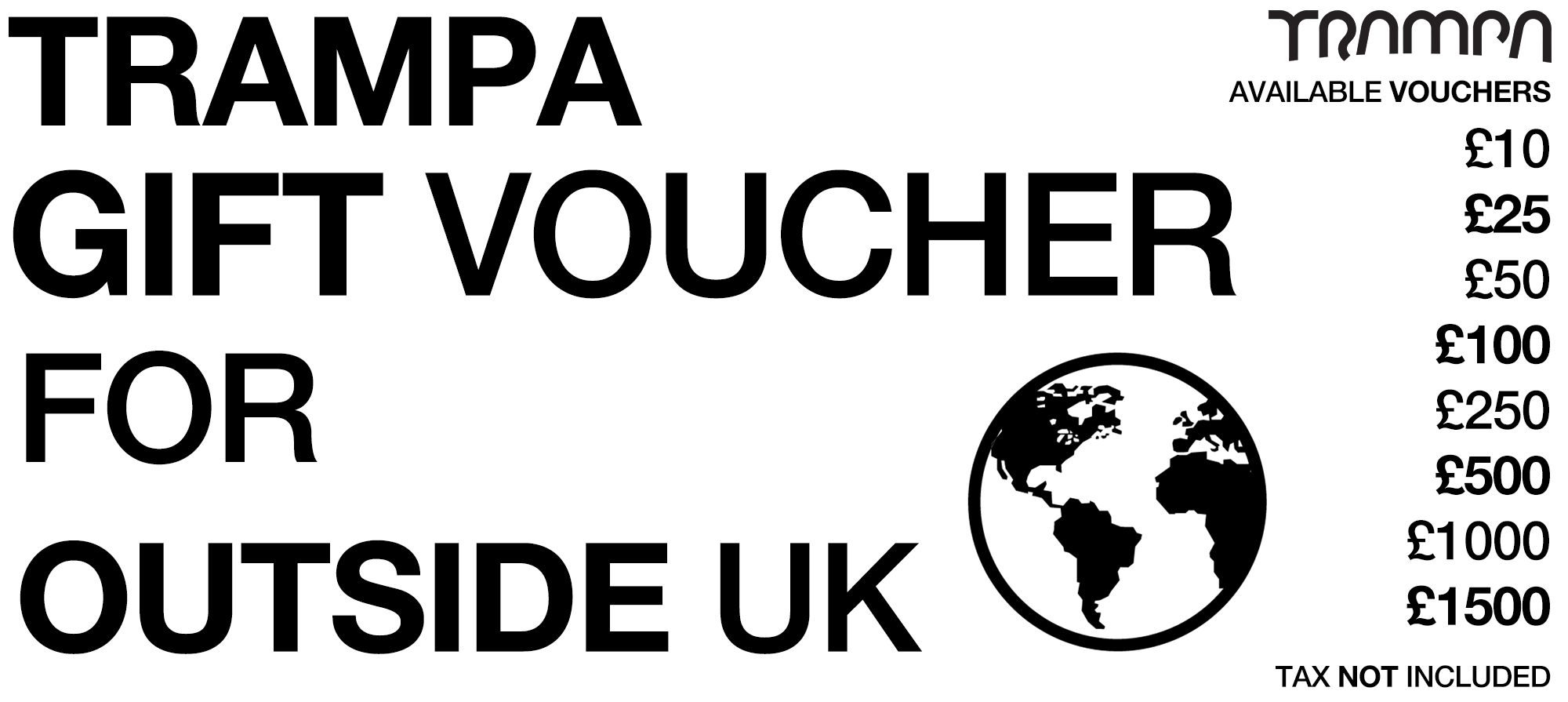 NON UK Gift Voucher - Includes Tax