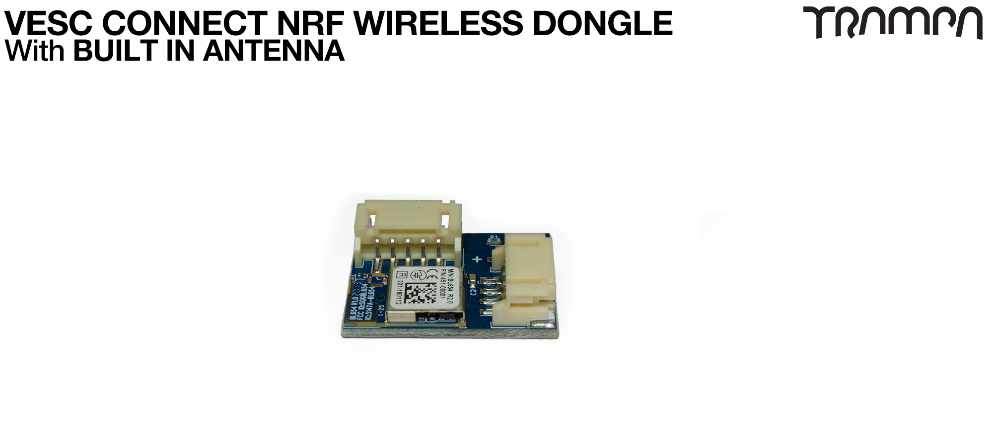 Yes please supply me with a Wireless NRF VESC Connect Dongle (+£27.50)