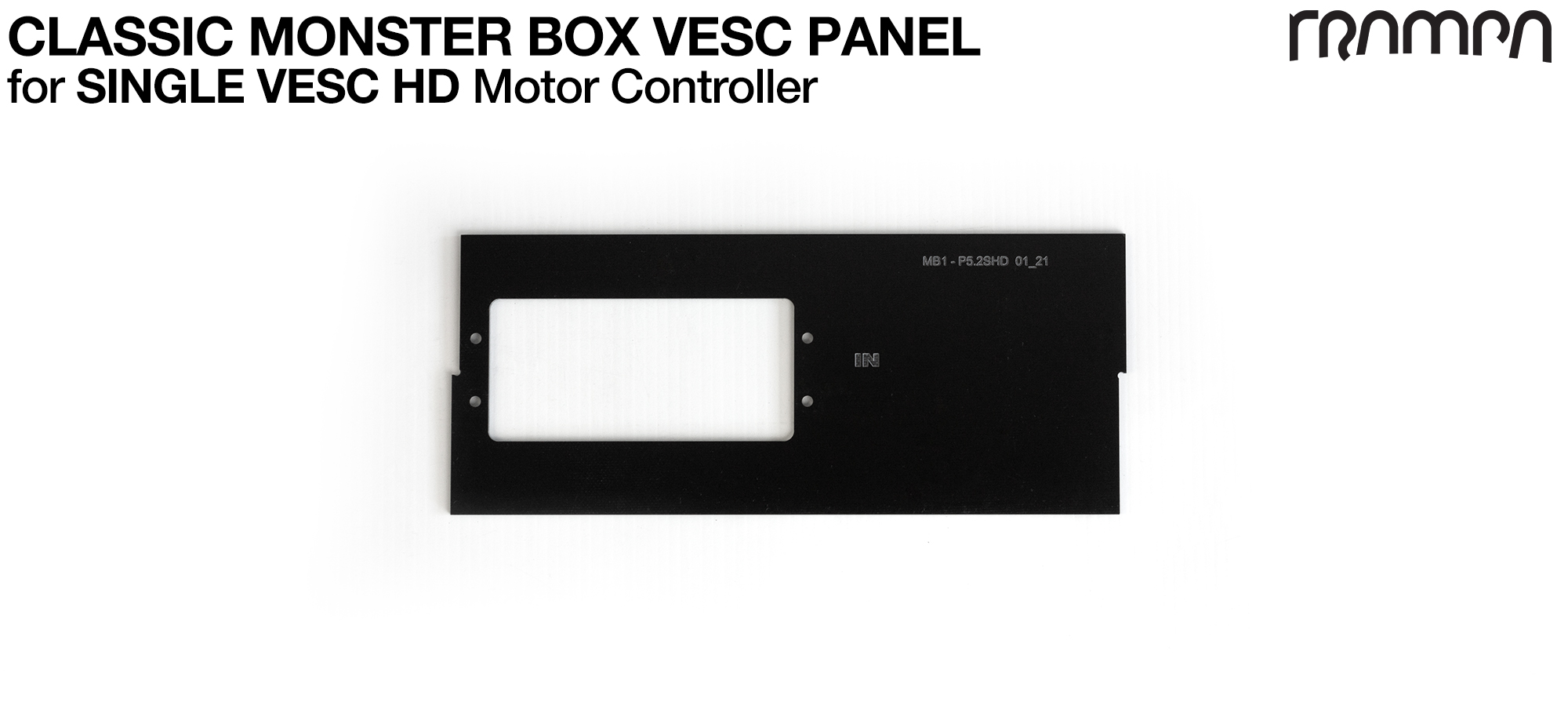 CLASSIC Monster Box MkIV 1xHD-60Twin Mounting Panel